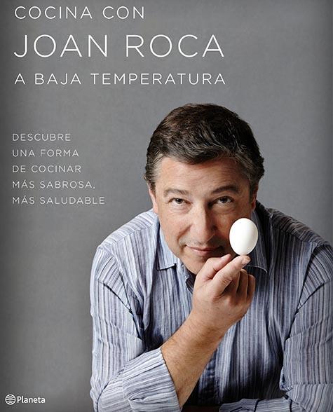 """Libro """"a baja temperatura"""" con Joan Roca"""