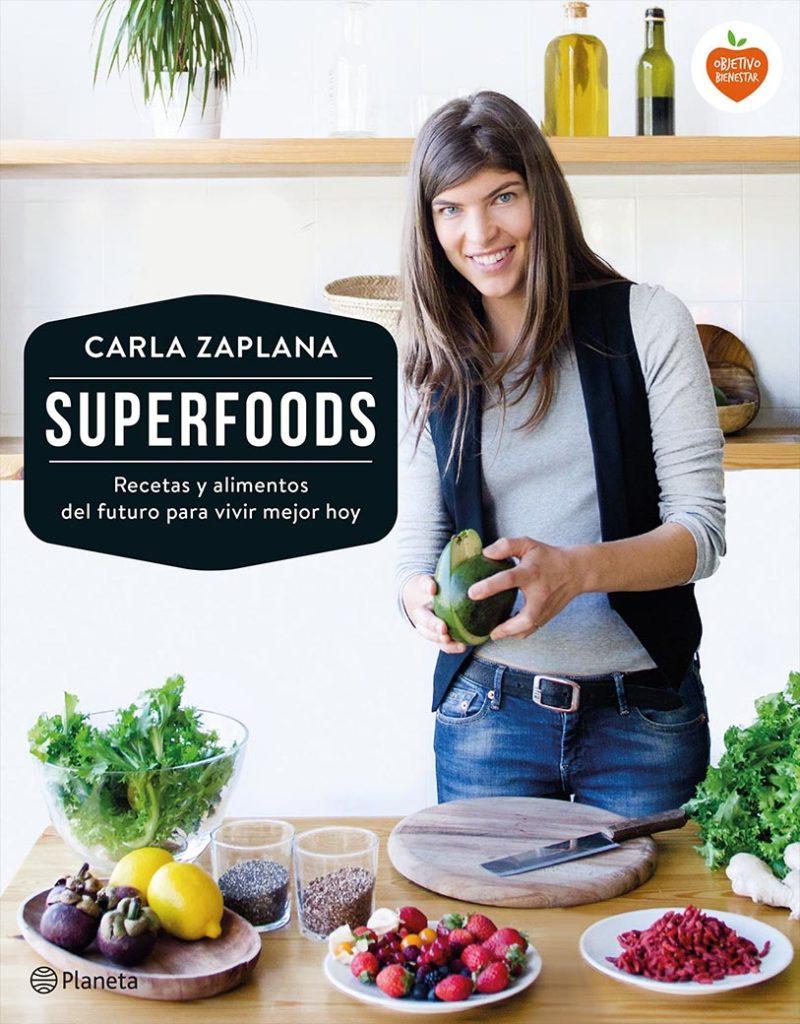 libro de recetas saludables libro Superfoods