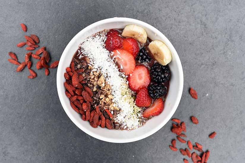 Almuerzo saludable y equilibrado