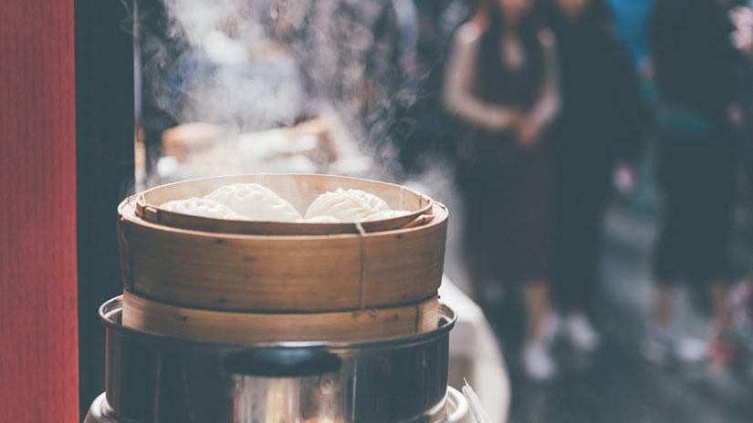 Pasos para cocinar al vapor