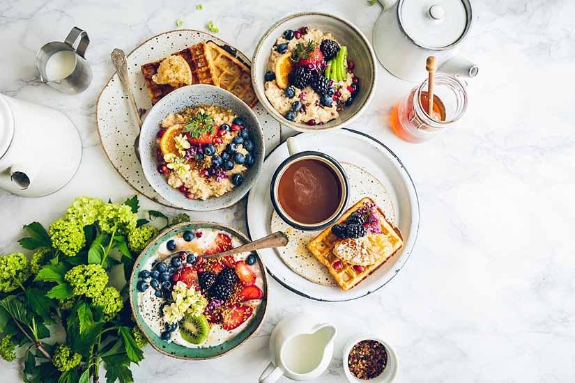 Desayuno saludable y nutritivo