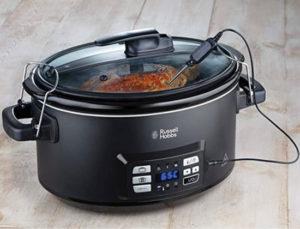 Slow cooker para cocina a baja temperatura