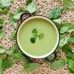 Sopa de espinacas receta