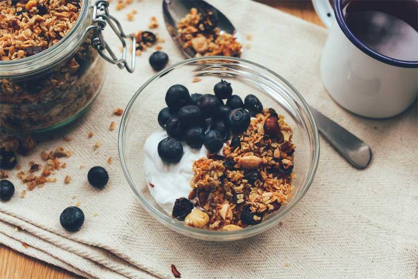 Receta de granola casera sin azúcar