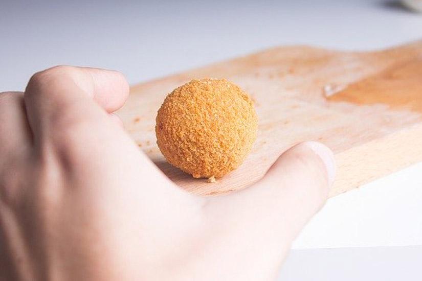 Cómo se hacen las trufas de queso cabrales