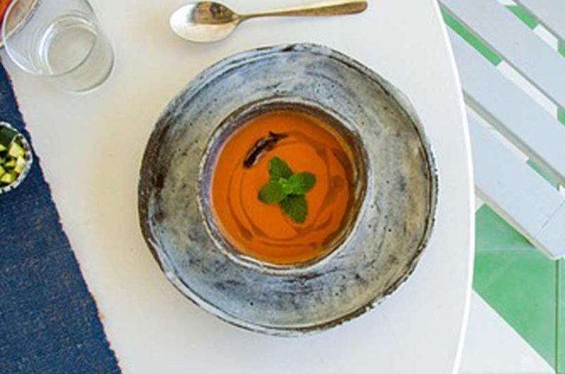Receta de gazpacho andaluz casero