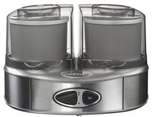 Máquina para hacer helados dobles