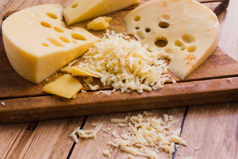 queso emmental propiedades