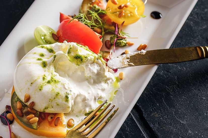 los mejores quesos frescos de Italia