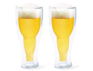 vasos de cerveza de vidrio